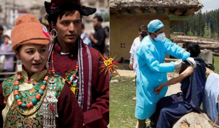 Ladakh: The First Union Territory vaccinated 100 percent of its population with first dose!