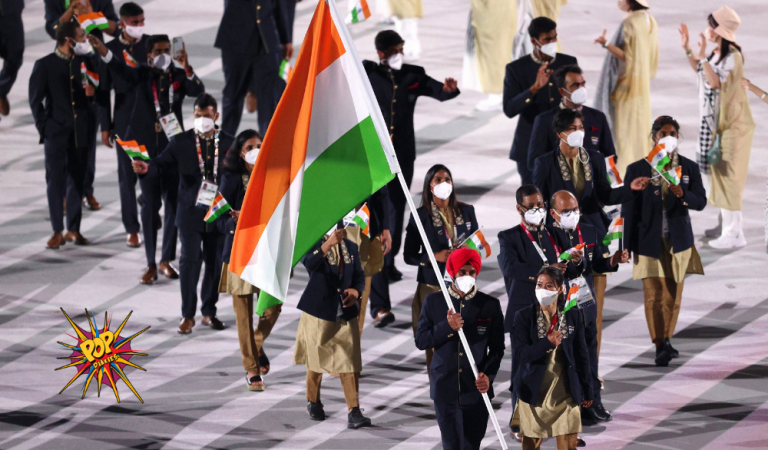 Mary Kom & Manpreet Singh Leads Indian Contingent in Olympics Opening Ceremony