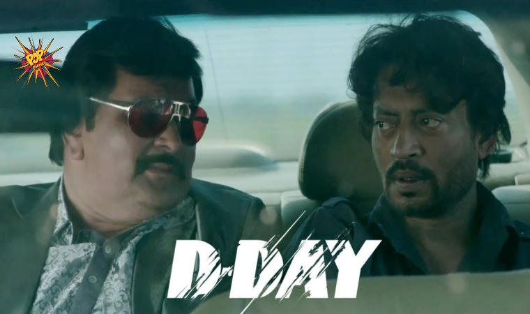 This Day That Year Box Office : When Irrfan Khan And Rishi Kapoor Came Together In D-Day For The First And Last Time