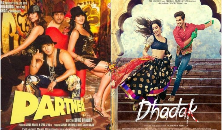 This Day That Year Box Office : When Partner And Dhadak Were Released On 20th July