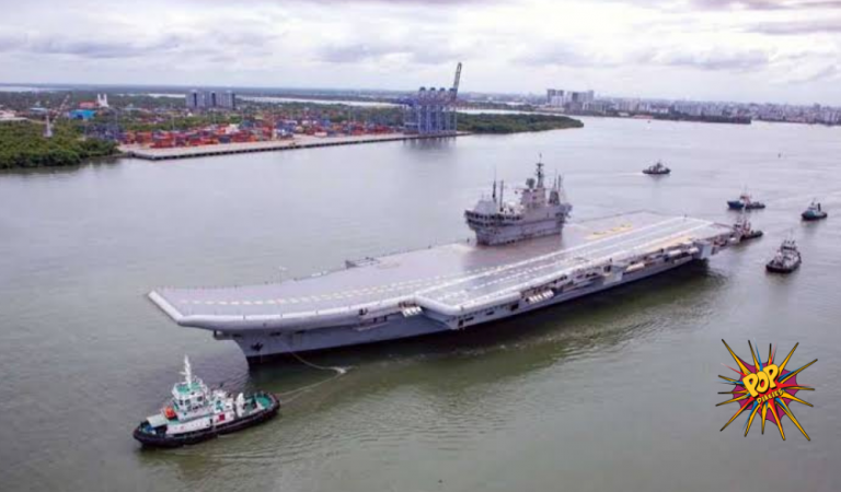Historic Moment For India: INS Vikrant Starts Its Sea Trial