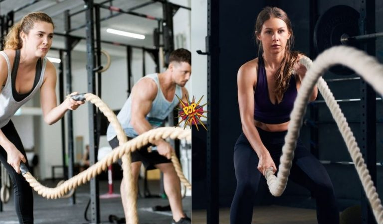 Health: Battle Rope Exercise Help In Burning Fat? Read More To See What A New Study Says!