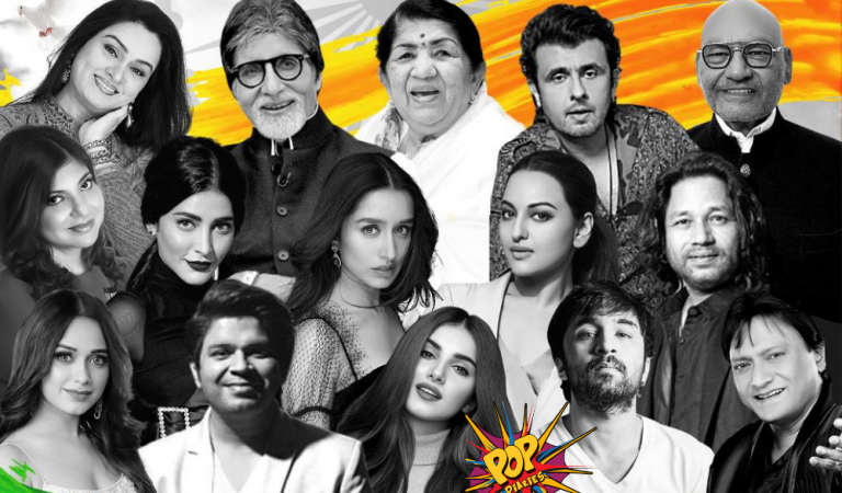 DHMK – Dhamaka Records, the exciting new music label is all set to release a one of a kind track which features 15 Legendary personalities and industry stalwarts for the first time ever, collaborating and showcasing unity which resonates with hope and India uniting in the fight against the pandemic!