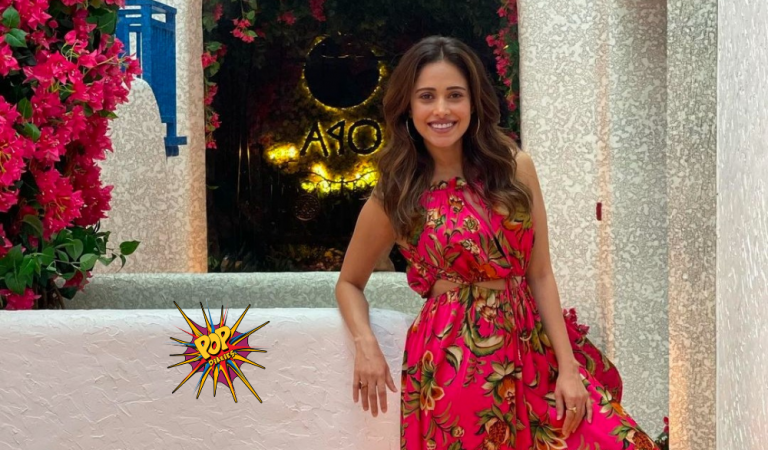 Nushrratt Bharuccha gives some major fashion goals in her Red Floral One piece