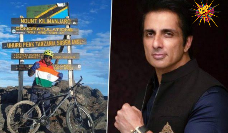 Mountain Climber and Cyclist Uma Singh Vanquishes Mount Kilimanjaro and Commits his Triumph to Sonu Sood