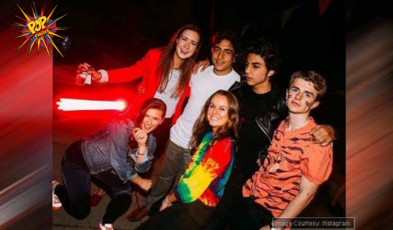 SRK's Son Aryan Khan Poses With Friends Unseen Pictures. See Here