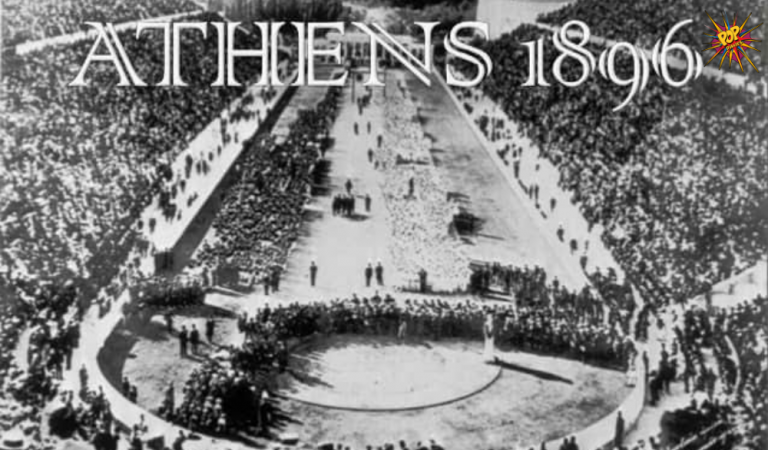 """""""For athletes, the Olympics are the ultimate test of their worth"""" Check out these 10 things you may not know about the first modern Olympics:"""