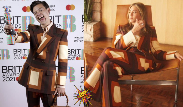 Jennifer Aniston her fun twinning with Harry Styles; says, 'Call Me Harriet Styles'