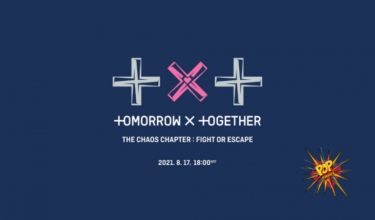 TOMORROW X TOGETHER DROP TRACKLIST FOR UPCOMING ALBUM THE CHAOS CHAPTER: FIGHT OR ESCAPE