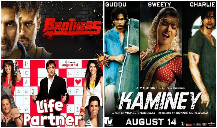 This Day That Year Box Office Trivia : When Brothers, Kaminey And Life Partner Were Released On 14th August