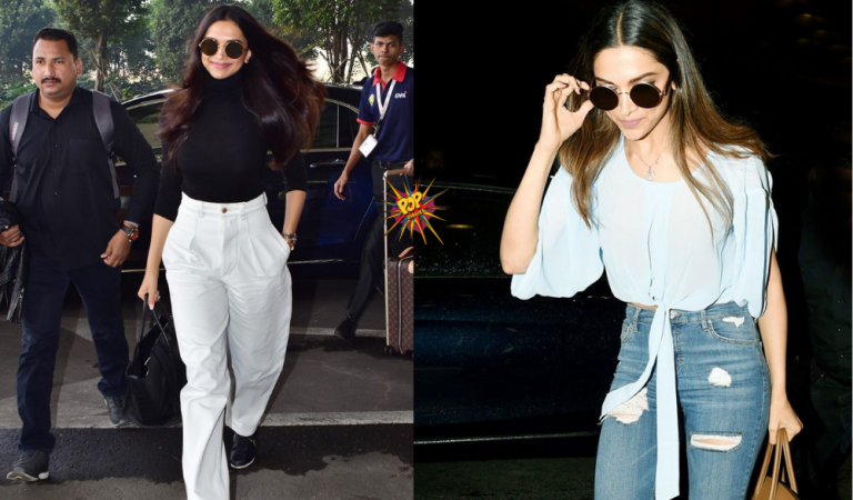 We can't Believe Deepika Padukone's Chic T-shirt is only for Rs. 1,299 (PICS INSIDE)