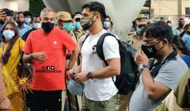IPL 2021: Captain Cool Lands in Chennai Ahead of Remaining IPL 2021; here are the Snapshots: