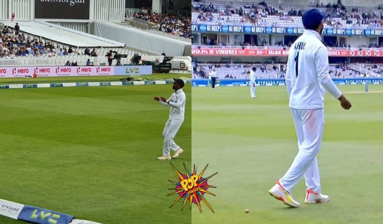 Crowd Throws Champagne Corks at KL Rahul While Fielding; Virat Kohli Asks to 'throw it back to them'