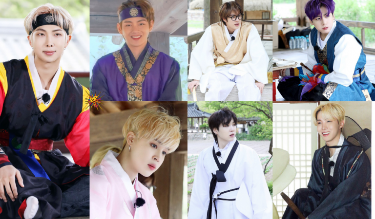 Run BTS! Highlights: BTS's Members Takes Us To The Joseon Dynasty