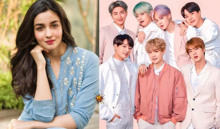 Bollywood Actress Alia Bhatt To Collab With K-pop Legend BTS..?