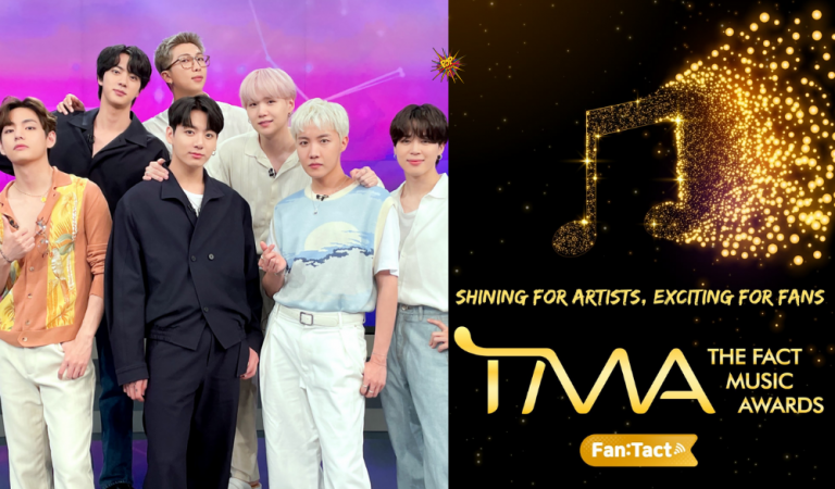 BTS To Attend The 2021 THE FACT MUSIC AWARDS