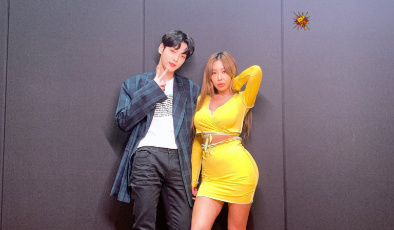 """TXT's Soobin And Jessi Exchange Cute Messages After Their """"Showterview"""" Episode"""