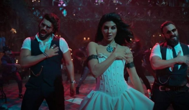 Jacqueline Fernandez shares a new vlog featuring BTS from 'Aayi Aayi Bhoot Police' song