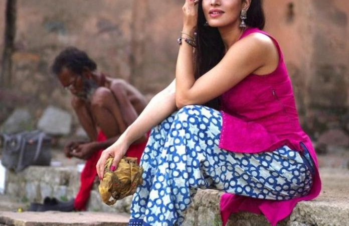 Khushalii Kumar visits Jhansi ahead of her shoot schedule to get into the skin of her character.