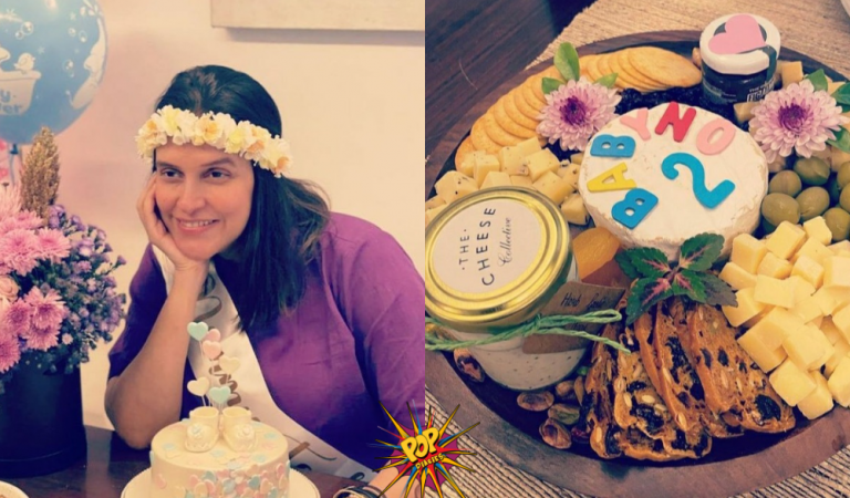 Inside Neha Dhupia's Unexpected Baby Shower With Angad Bedi, Soha Ali Khan and Mehr. See pics