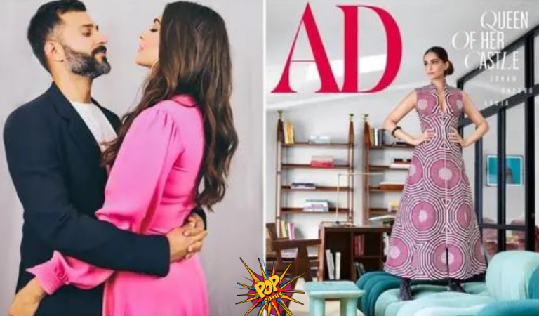 Sonam Kapoor Opens Ways to her London Home, Look at her ₹18 Lakh Lounge Couch