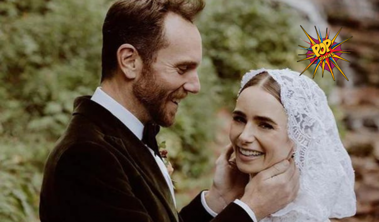 Emily In Paris Star Lily Collins Make's Us All Go In Awe After Sharing Pics Of Surprise Wedding
