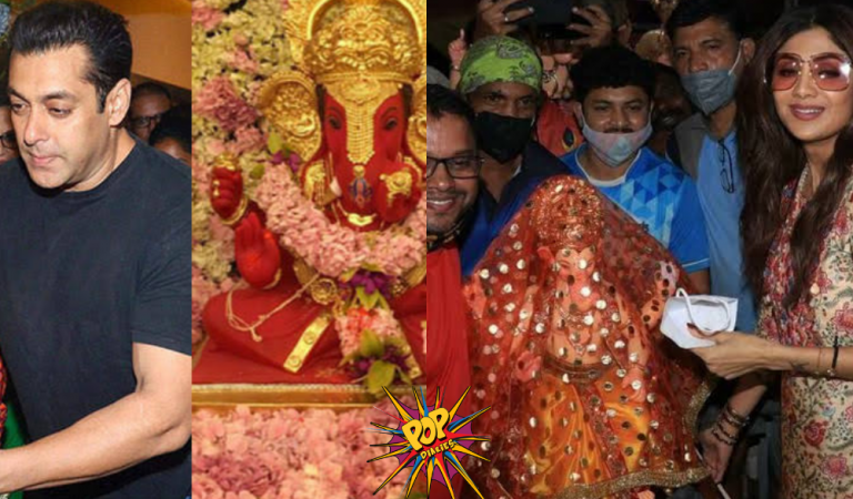 Ganesh Chaturti 2021: Here's how bollywood celebrities celebrate Ganesh Chaturthi, See Photos