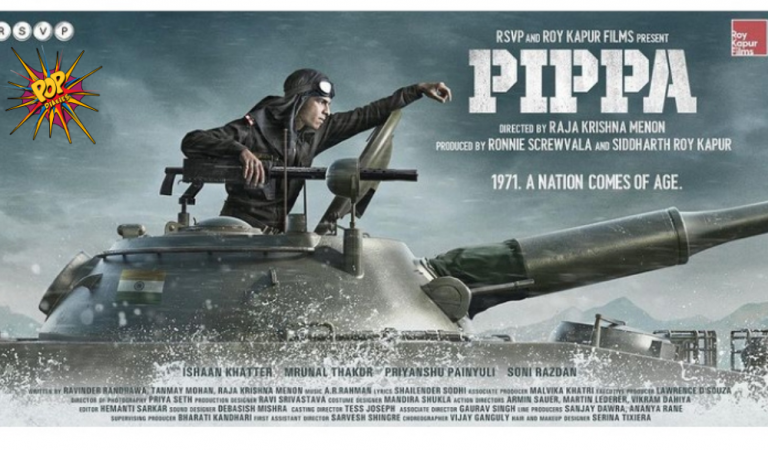 Pippa first look revealed: Ishaan Khatter all set for liberation