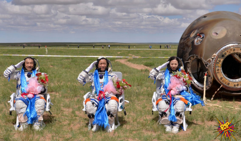 Chinese astronaut returns to earth after spending 90 days in space, know more:
