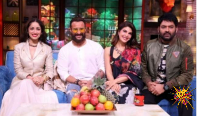 Yami Gautam says in kapil sharma show that her husband  never proposed to her, Saif makes fun of kapoor family, know more: