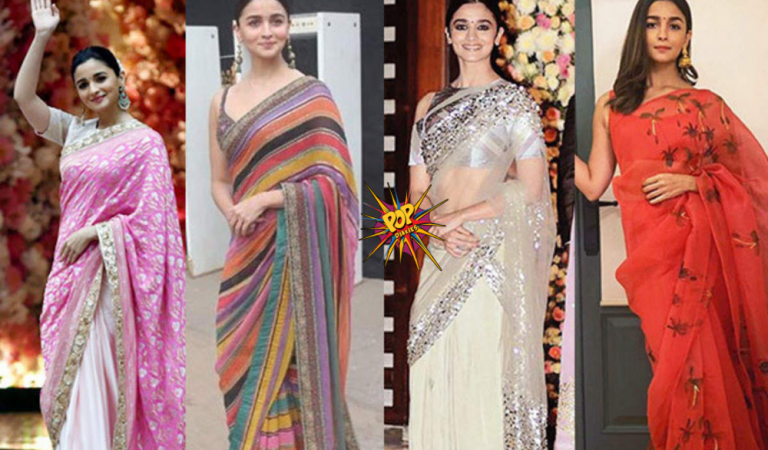 From elegant to simplicity, Alia Bhatt slays beautifully in these sarees! Take a look to get majore inspos:
