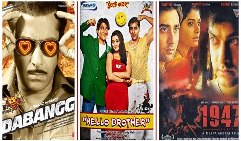 This Day That Year Box Office Trivia : When Dabangg, Hello Brother And 1947 Earth Were Released On 10th September