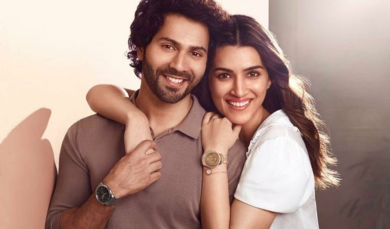 Varun Dhawan welcomes Mimi – Kriti Sanon for this brand collaboration, check it out!
