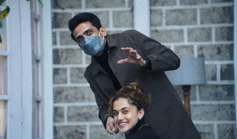Gulshan Devaiah Express his experience working with Taapsee Pannu – Blurr :