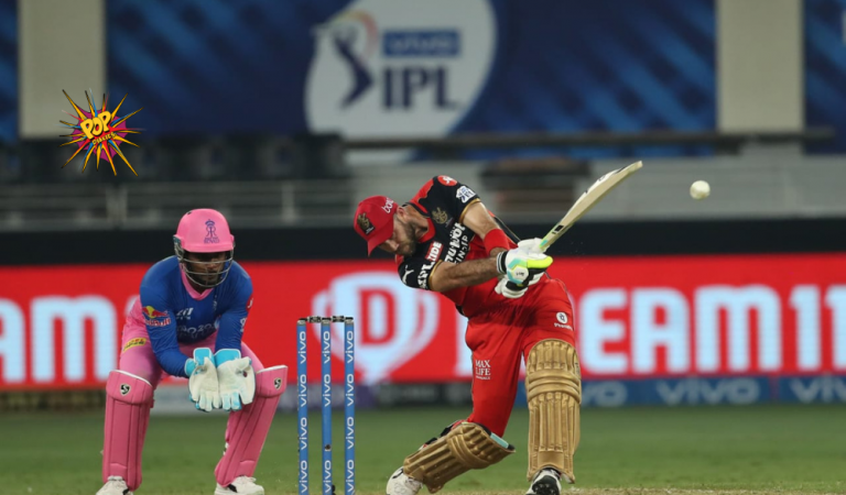One Step Ahead- Bangalore Beats Royals by 7 Wickets; Maxwell 50, H Patel 3-34