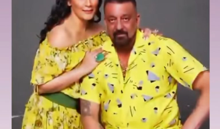 Sanjay Dutt and Maanayata Dutt grace the cover of an International leading magazine in well twined outfits