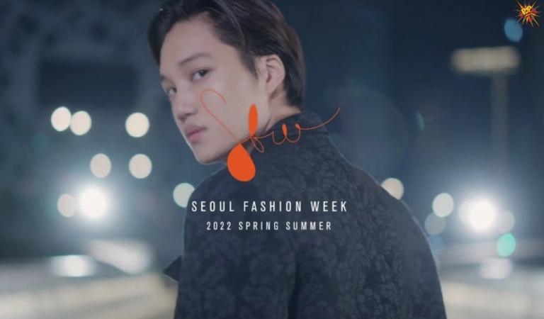 Fans are Overjoyed after the Release of KAI's Promotional Video for the 2022 S/S Seoul Fashion Week