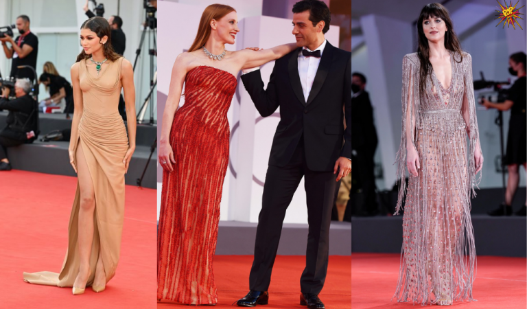 Best Fashion Roundup Looks from Venice Film Festival 2021
