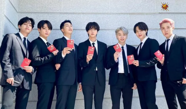 BTS Receives Diplomat Passports By South Korea President To Attend UNGA As Envoys