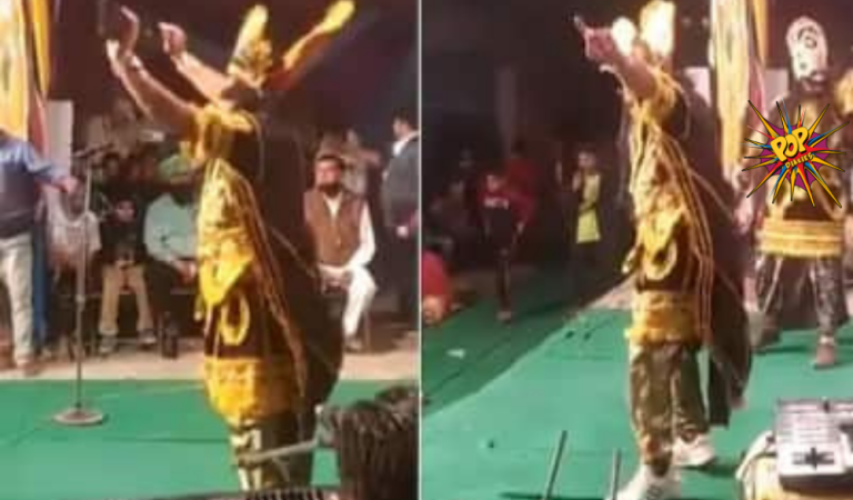Ravan did something which no one would have thought in a million years during ramleela, the old video got viral, know more: