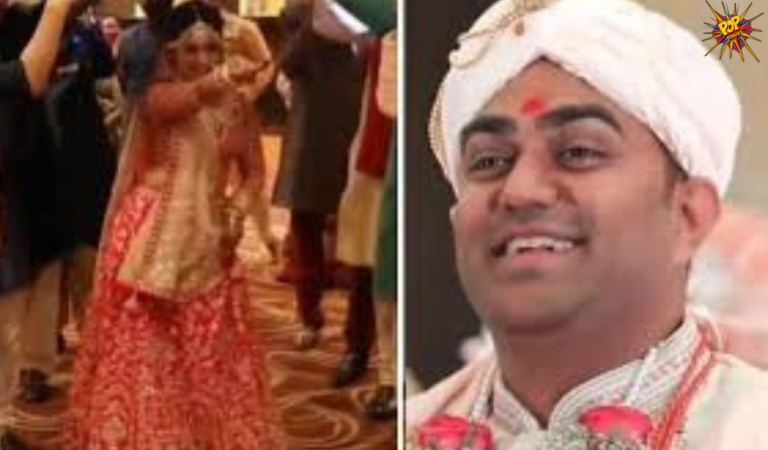 This bride stops during her grand entry at the wedding venue and her video has gone viral!