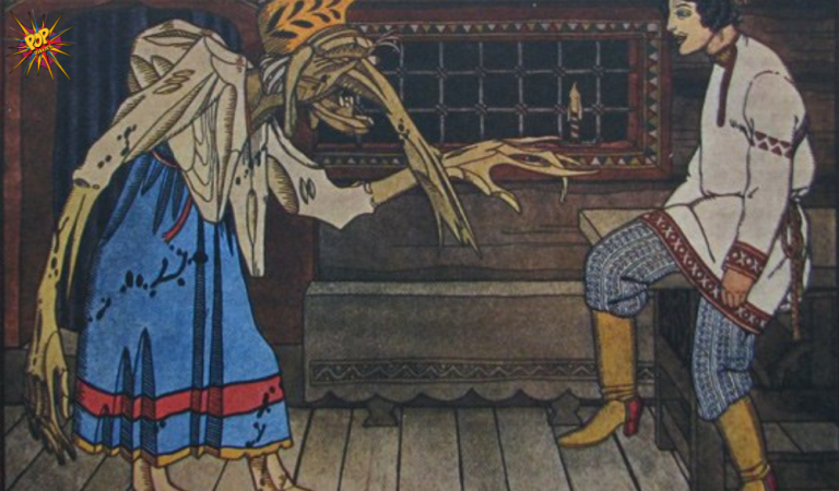 HALLOWEEN EDITION: Baba Yaga! The Story of Witchiest Witch in the Russian Folklore! :