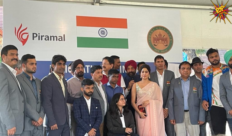 Janhvi Kapoor pays a Visit to Paralympians in Delhi says She would love to play Arunima Sinha on Screen