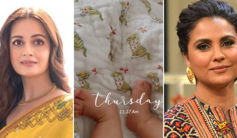 As Dia Mirza shares his son Avyaan's video, Lara Dutta Says Please can I eat him up