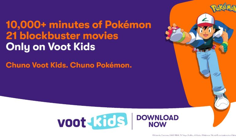 Voot Kids is the new digital home for the anime franchise, Pokémon .Voot Kids brings little fans closer to their favorite series, Pokémon, with 21 blockbuster movies and over 10,000 minutes of exciting Pokémon Anime Series