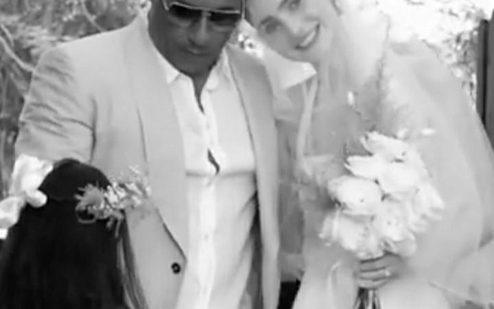 What A Moment! Late Paul Walker's daughter Meadow Walker Gets Married And Vin Diesel Walks Her Down The Aisle.