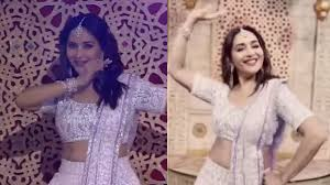 The dancing Queen Madhuri Dixit Nene grooves to the peppy tunes of Dhvani Bhanushali's Mehendi!